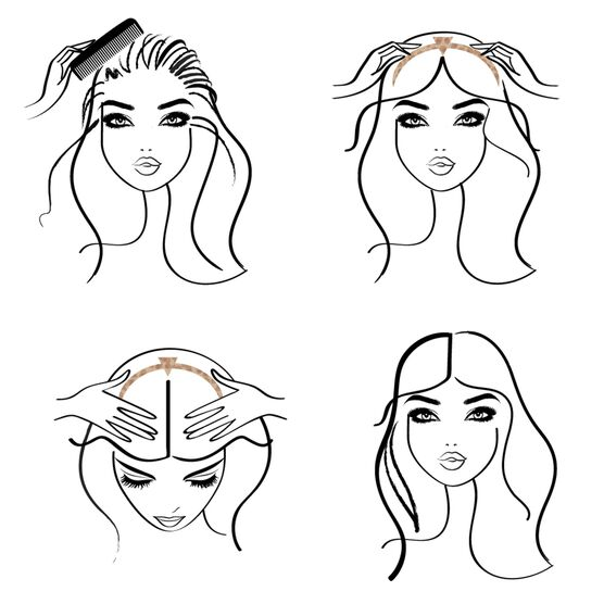 Hair Parting Accessories